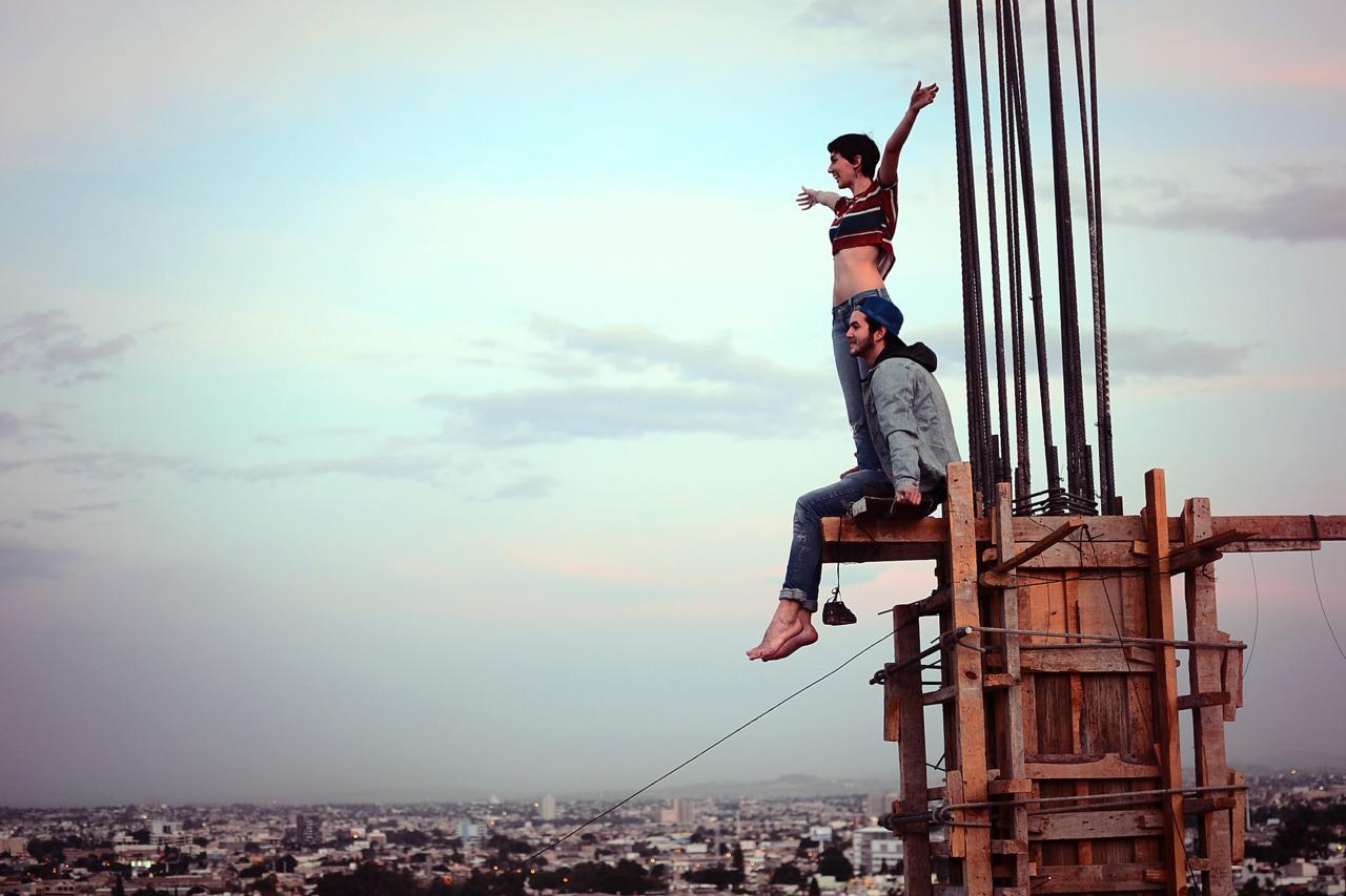 некоторые картинки людей на высоте создает нежные