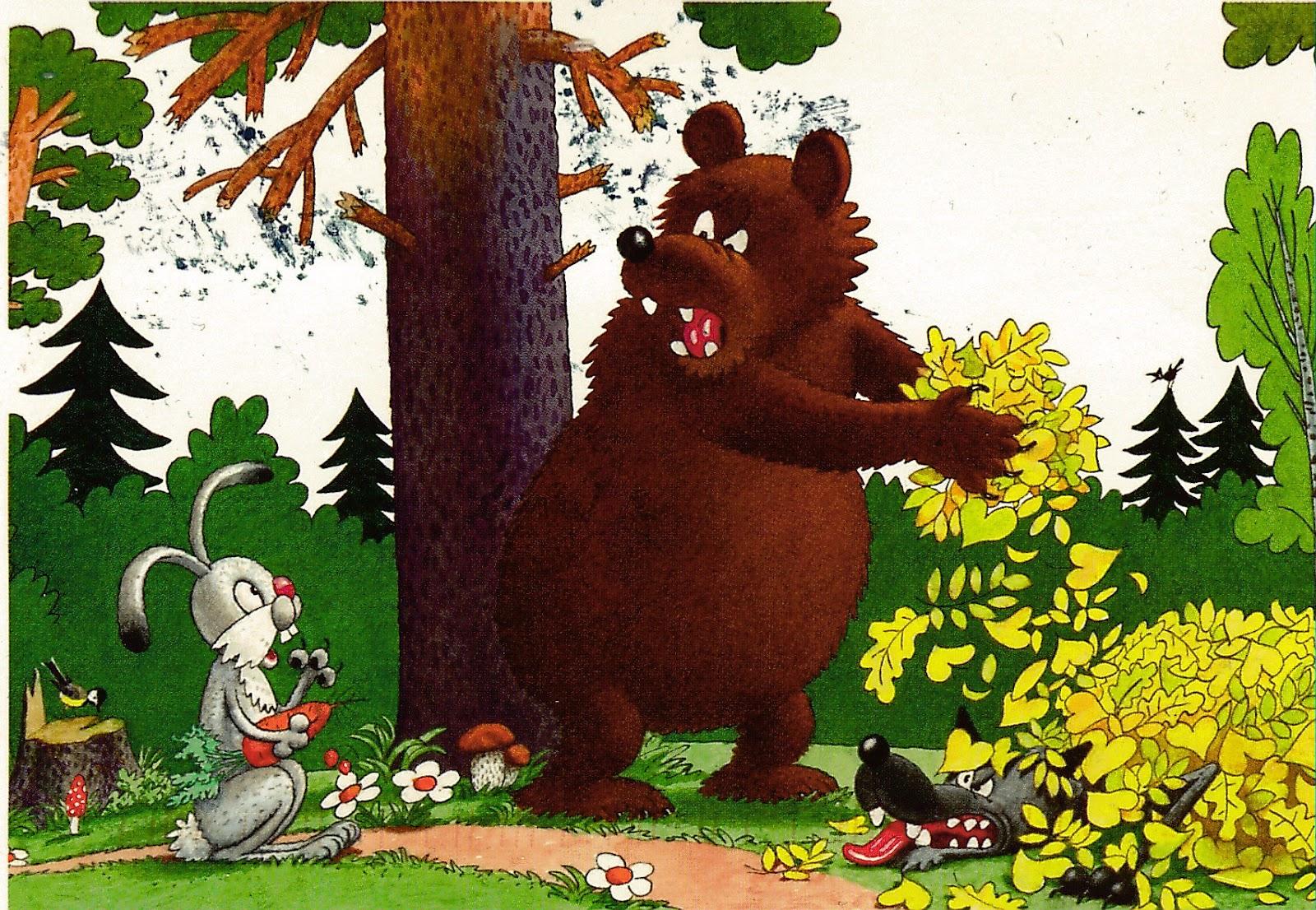 мать картинки к сказке заяц и медведь гранатов таиланде