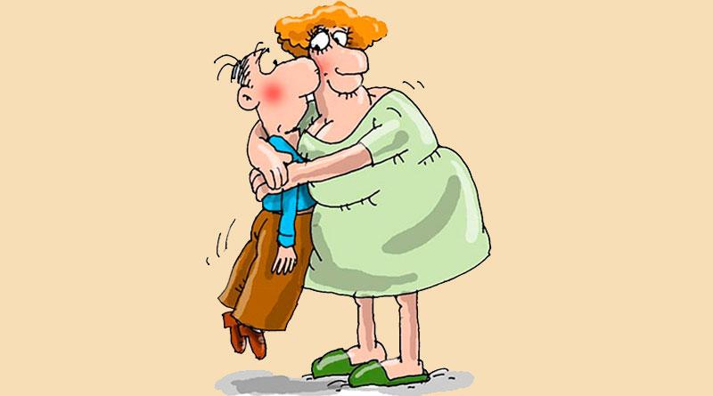 Картинки прикольные про мужа и жену как они любят друг друга, покровская родительская суббота