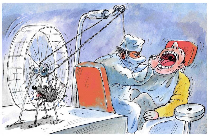 Смешная картинка стоматолога