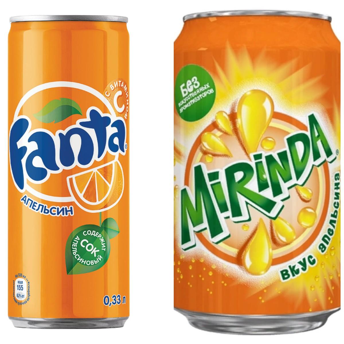 Опрос: Fanta или Mirinda?